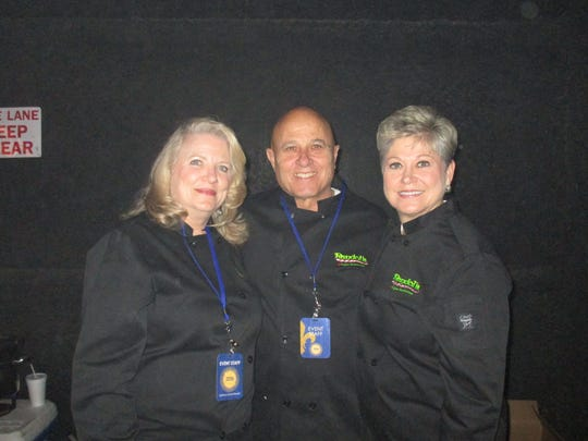 Kathy and Frank Randol and Kathy Stokley