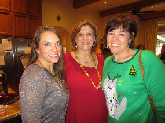 Karen Juneau, Dona Moliere and Erin Landry