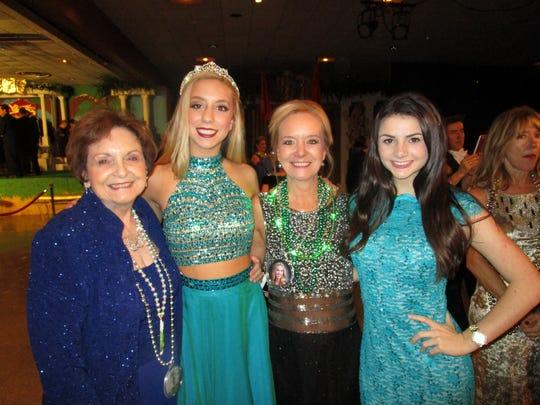 Shirley Richard, Emily Stevens, Melissa Stevens and Ansley Vincent