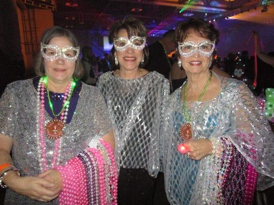 Mary Ann Nix, Sharon Fontenot and Jenny Feehan