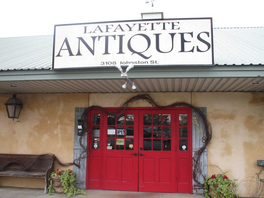 Lafayette Antiques store on Johnston Street has a wide