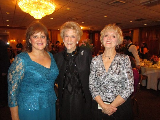 Beth Finch, Pat Olson and May Waggoner