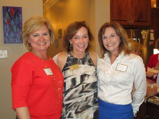 Jeigh Stipe, Cindy Self and Cheri Daigle