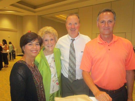 Carol Olson, Pat Olson, Randy Olson and JD Morein