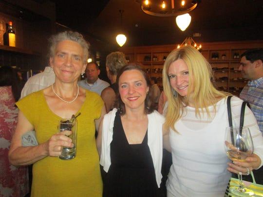 Lisa Osborn, Kat Movassaghi and Kelly Cobb