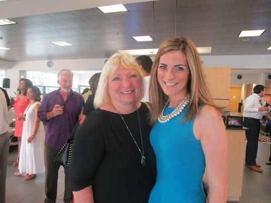 Ann Webb and Liz Hebert