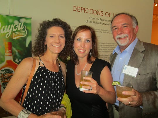 Michelle Truxillo, Lauren Fitts and Doug Truxillo