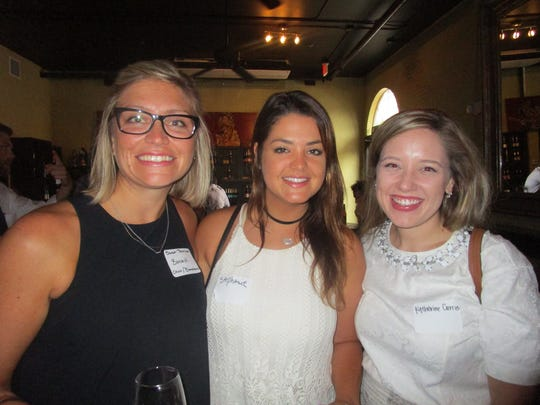 Sarah Tennison, Stephanie Wartelle and Katherine Currie