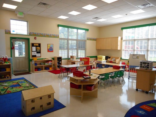 Inside the classrooms of the Primrose School of Berkeley Heights, which serves students and their families in the Berkeley Heights, Summit and New Providence communities.