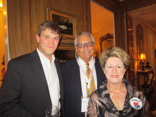 Chris Roy, Ron and Georgette Prejean
