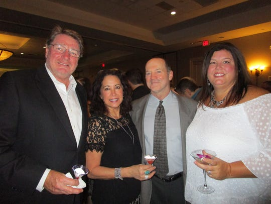 Ross and Diane Keogh, Rob and Tiffany Harris