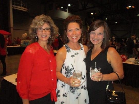 Roz Fisher, Carol Ann Trahan and Mimi Boustany