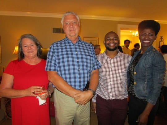 Sue Ann and Harvey Ozbirn, Jeremiah Rhinehardt and
