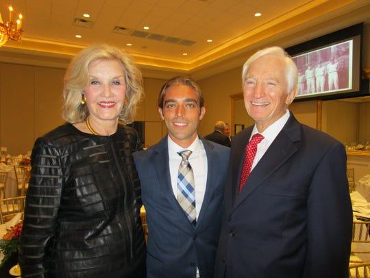 Elaine Abell, Nic Rodriguez and Ed Abell