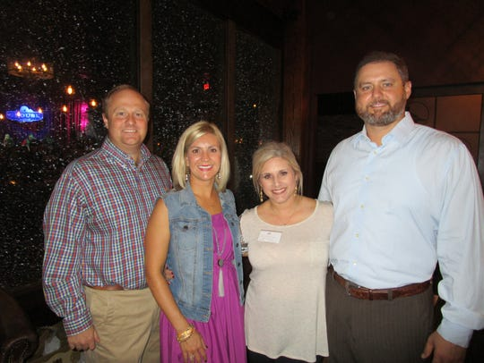 Jeff and Katherine Reimann, Nicole and Anthony Desormeaux