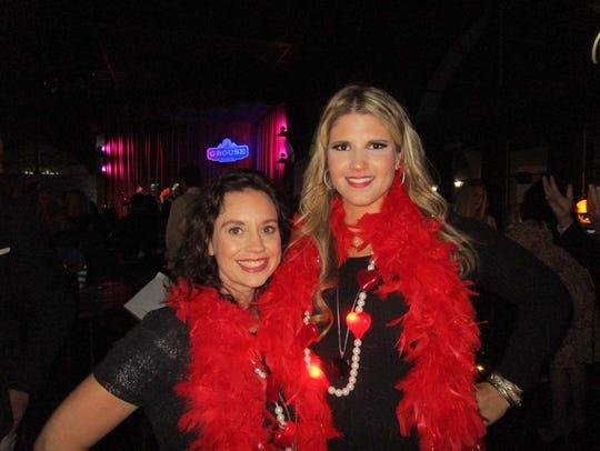 Tanya Zaunbrecher and Annie Spell