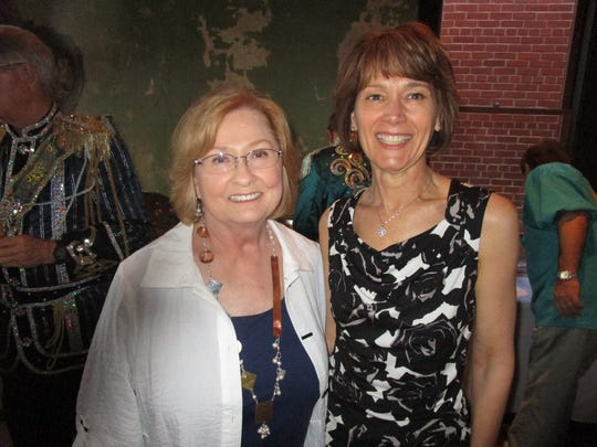 Beth Guilbeaux and Mary Romagosa are pictured at an