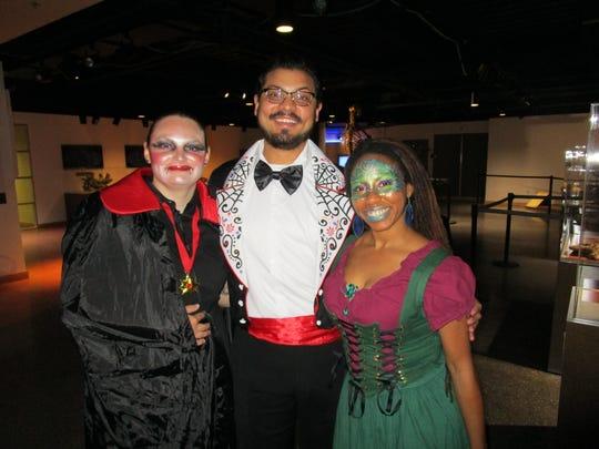 Jesse Eyster, Miguel Ochoa and Frances Barker