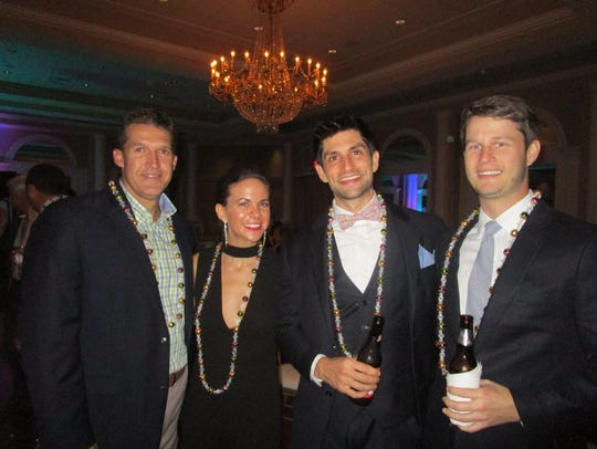 Randy Guidry, Angela and Zack Sneidon and Andrew Gore