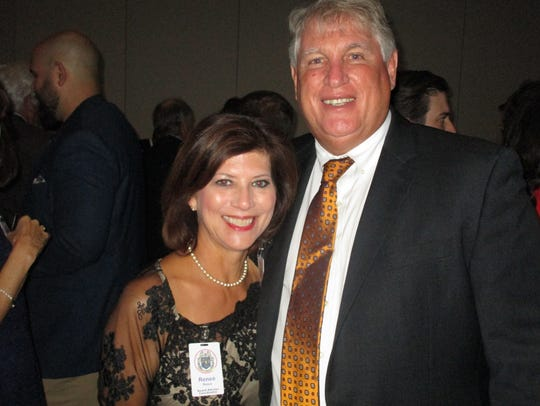 Reneé Reaux and John Fenstermaker
