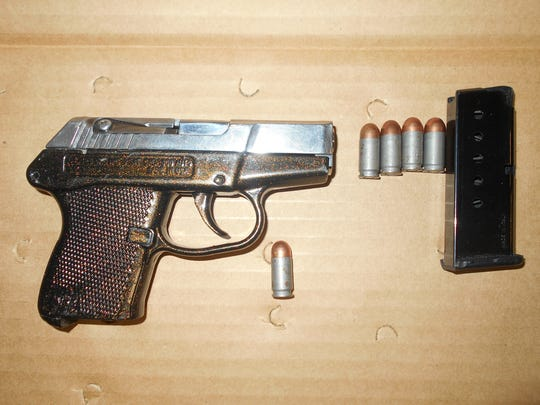Police obtained the handgun used by Matthew C. Smith during the robbery.