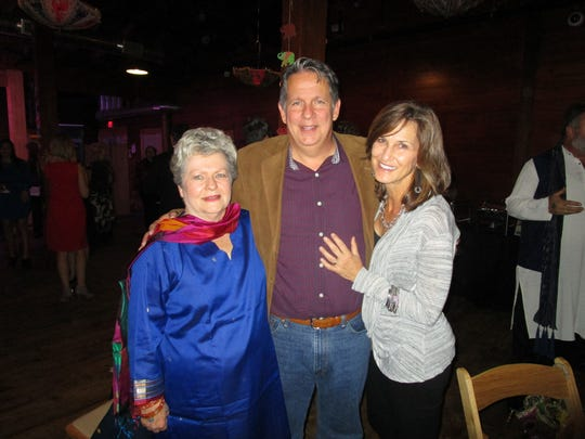 Sally Herpin, Joel and Bobette Robideaux