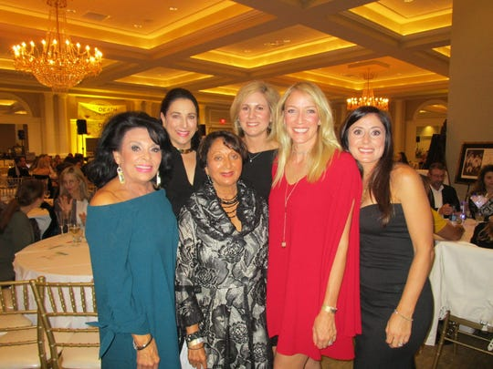 Sharon Moss, Nancy Broadhurst, Sangeeta Shah, Jennifer LeMaistre, Hannah Mason and Monique Kolder