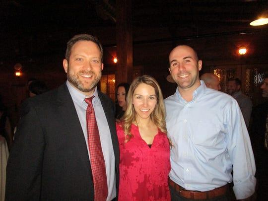 Chris Afeman, Margo and Eric Dugas