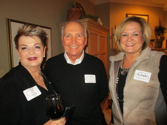 Carolyn Greco, David Welch and Flo Zeigler
