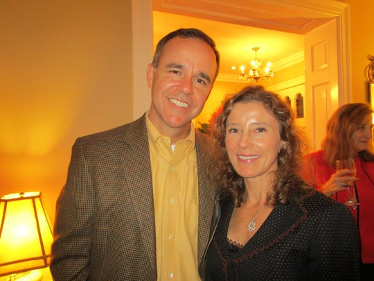 Troy Broussard and Beth Trotter
