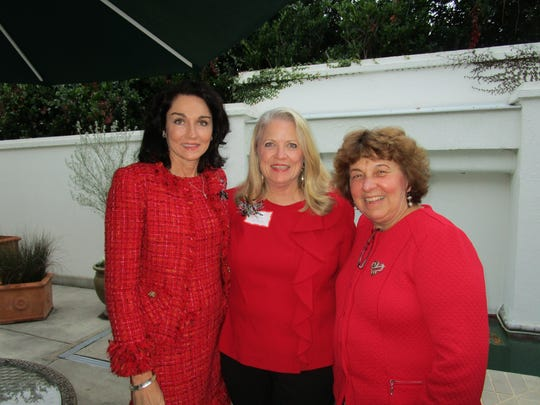 Gina Calogero, Kathy Randol and Sharon Bourgeois