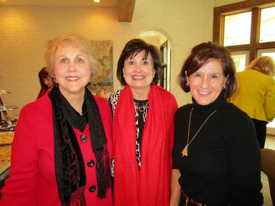 Gail Billeaud, Norma Guidry and Jackie Maggio