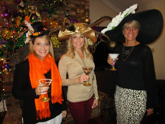 Liz Granger, Kim Carbo and Stefani Celio