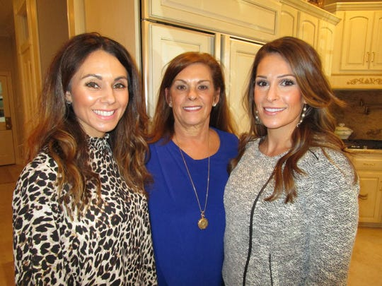 Heather Cox, Laurie Champagne and Jennifer Landry