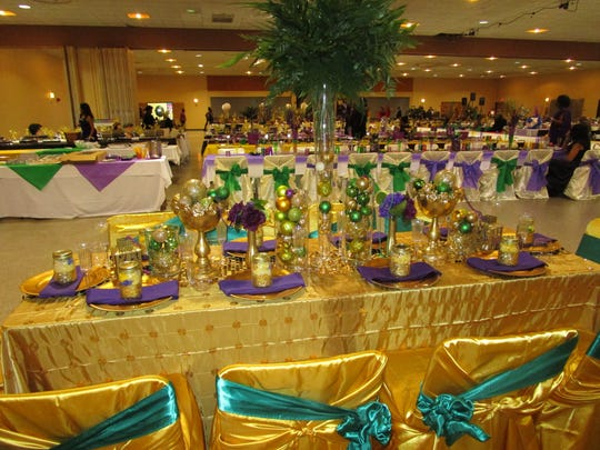 The Lafayette Mardi Gras Festival,Inc. ball was held on Feb.11 at the Heymann Center in Lafayette.