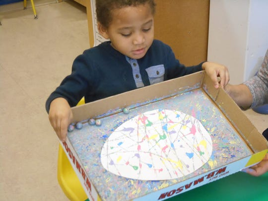 Pre-K student Nicolas Friday from Jennifer  Kabrt's
