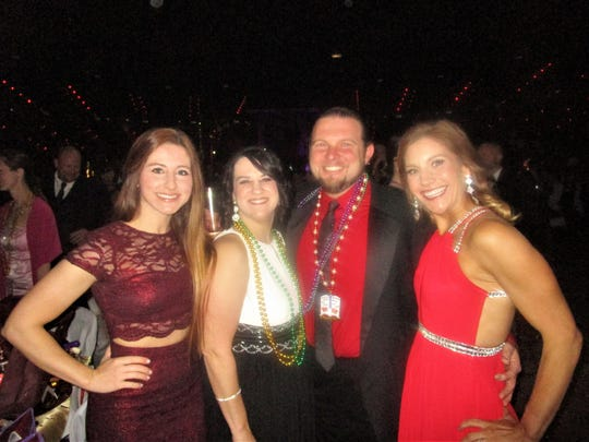 Paige Stinson, Gina Boudreaux, Raul Manuel and Molly Beach