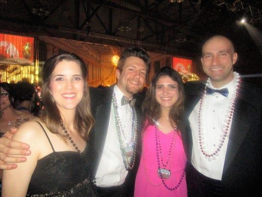 Kaitlyn Johnson, Austin Canty, Elle Garagiola and Kelsey