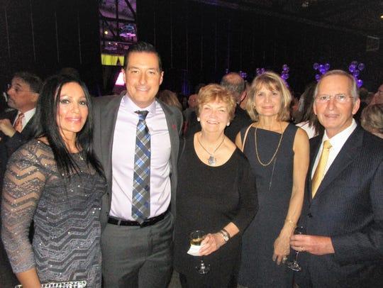 Anna Uriegas, Eric Richard, Rae Logan, Becky and Barry