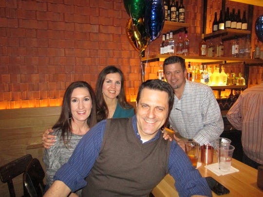 Holly and Bobby Mouton and Melody and Chris Muffoletto