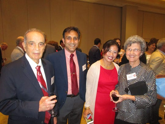 Ray Authement, Jamal Khattak, Sarina Yusofe and Barbara Authement