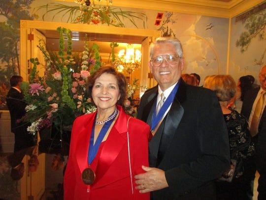 Toni and Emmet Stephenson