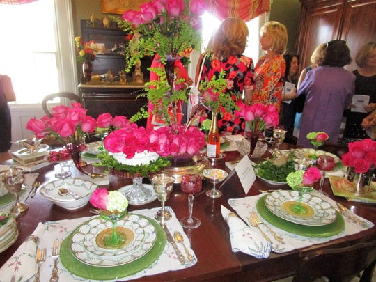 Vignettes was held on Apr. 3  at the Alexandre Mouton House Museum in Lafayette.