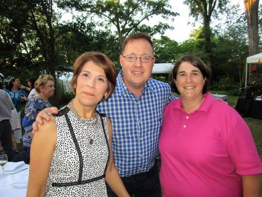 Sabrina Hagan, Mark Guilbeau and Renee Menard