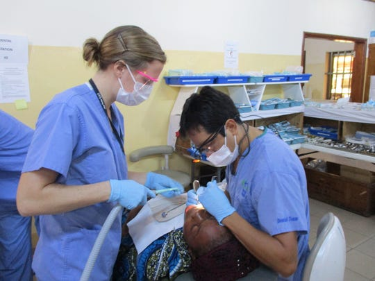 Natasha Lentz, 25, Chambersburg, worked on Mercy Ships as a dental sterilizer between December 2016 and June. The organization brings a ship with medical teams and operating rooms to areas that struggle to access health care.