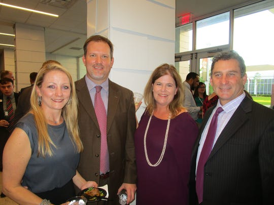 Erin and Mike Henry, Tracey and Bart Broussard