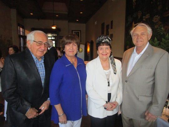 Raymond and Kathleen Blanco, Sue and Marvin Munchrath