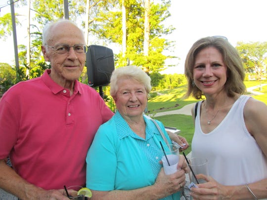 Philip, Dell and Laura Aucoin