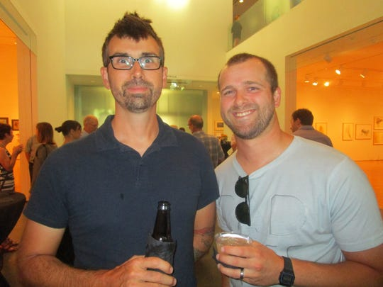 Chris Paulin and Dirk Guidry