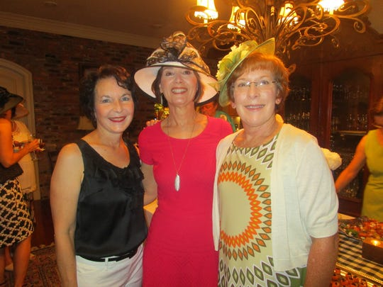 Dana LaBorde, Mary Romagosa and Gail Wilt